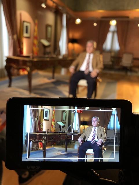 Entrevista con la Sexta TV