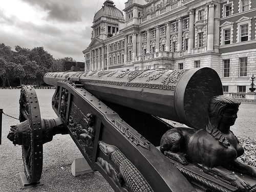 Turkish Gun Antique Cannon Horse Guards London  | Antique Cannon