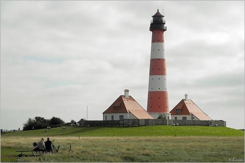 Der Leuchtturm Westerheversand