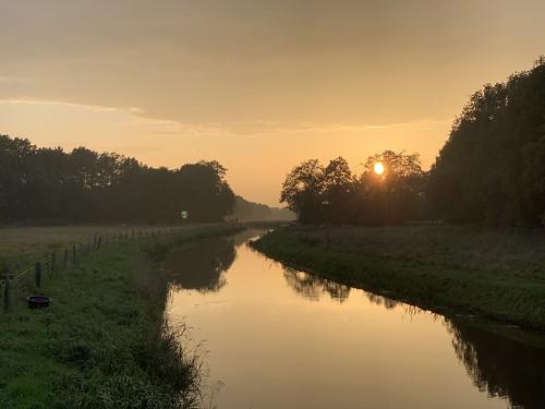 Sunset ride, 73 kilometers of bliss