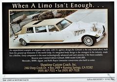 2000 Gilmark Limited Edition Limousine