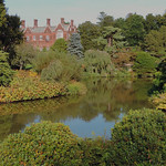 View of Sandringham House from the Dell by Elaine Robinson