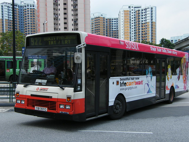 DAF SB220LT | Alexander Setanta | SMRT Buses | TIB 707 C
