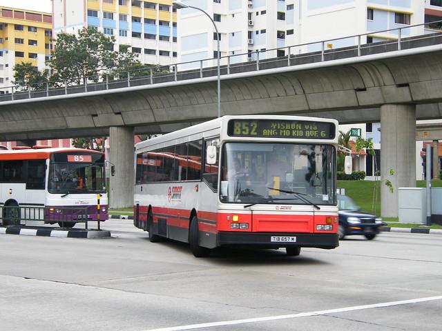 Scania L113CRL | Alexander Strider | SMRT Buses | TIB 657 M
