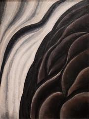 Arthur Dove, Sea Gull Motive (Sea Thunder or The Wave), 1928, Oil on wood panel 5/7/19 #deyoungmuseum