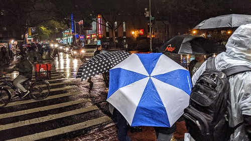 Umbrellas on Sixth Avenue