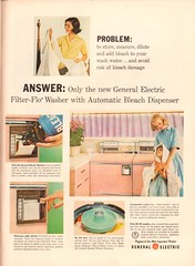 1960 General Electric Washer Advertisement Life Magazine May 2 1960