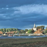 Storm light at Bosham by Bill Wastell