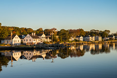 Sunrise in Mystic, Connecticut