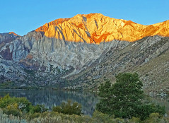 Sunrise on Mount Morrison, Convict Lake, CA 10-19