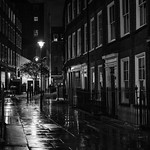 A Rainy Night in London by Peter Budd