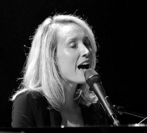 Sarah MacKenzie (voc, p) Sarah MacKenzie Septet, Gouvy Jazz Festival, 03/08/2019, Sterpigny-Gouvy, Belgium