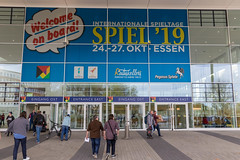 Entrance of the international gamedays in Essen Spiel19