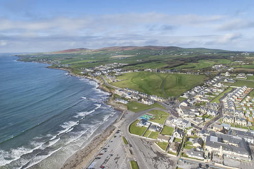 Seagull's eye view. Ballyheigue, Kerry.