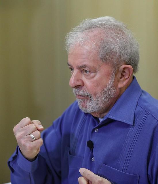 Lula concedeu entrevista exclusiva ao Brasil de Fato na quarta-feira (23) - Créditos: Ricardo Stuckert