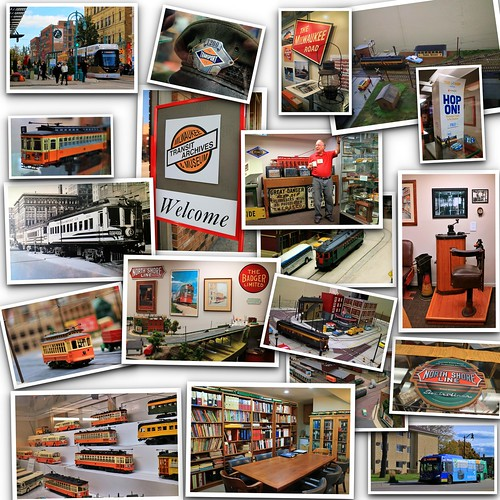 A visit to the Milwaukee Transit Archives & Museum
