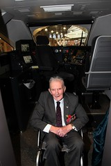 Royal British Legion 2019 Poppy launch Bristol Temple Meads station with Sqn Ldr Jonny Johnstone MBE DFM image no 24