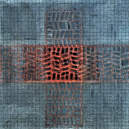 Chequered Terracotta Ventilation