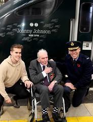 Royal British Legion 2019 Poppy launch Bristol Temple Meads station with Sqn Ldr Jonny Johnstone MBE DFM image no 25