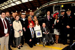 Royal British Legion 2019 Poppy launch Bristol Temple Meads station with Sqn Ldr Jonny Johnstone MBE DFM image no 21