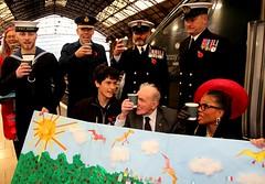 Royal British Legion 2019 Poppy launch Bristol Temple Meads station with Sqn Ldr Jonny Johnstone MBE DFM image no 20