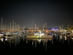 Monterey Bay at night