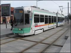 Alsthom TFS (Tramway Français Standard) – TPAS (Transports Publics de l'Agglomération Stéphanoise) (Veolia Transport) / STAS (Société de Transports de l'Agglomération Stéphanoise) n°928 - Photo of Saint-Jean-Bonnefonds