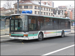 Setra S 315 NF – SRT Autocars / STAS (Société de Transports de l'Agglomération Stéphanoise) n°109 - Photo of Saint-Jean-Bonnefonds
