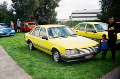 Holden Commodore (VK) in yellow