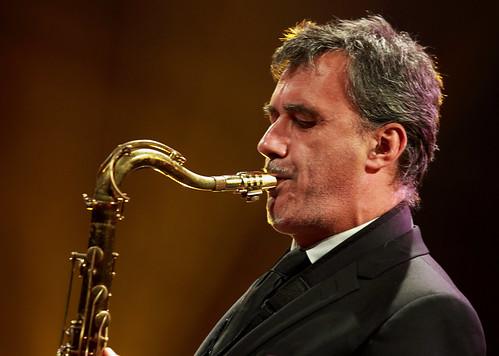 David Sauzay (ts) Sarah MacKenzie Septet, Gouvy Jazz Festival, 03/08/2019, Sterpigny-Gouvy, Belgium