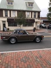 Triumph TR6 in Middleburg
