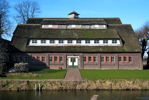 Groningen: Borg Ewsum boerenschuur