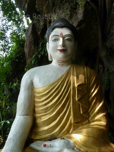 Locally Made Buddha Statue, Hpa An, Burma
