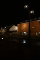 小樽運河のガス灯