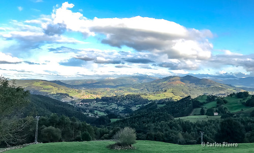 Sol de media tarde. Cantabria.