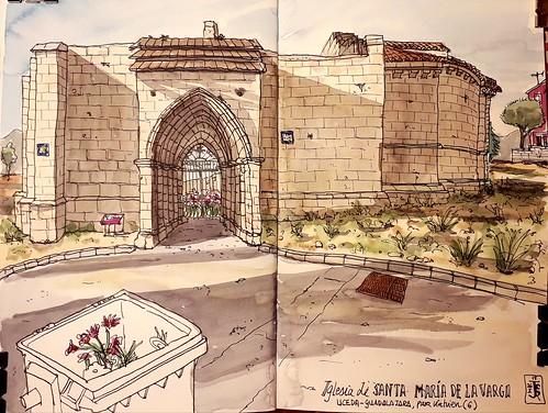 Uceda, Guadalajara. Santa Maria de la Varga