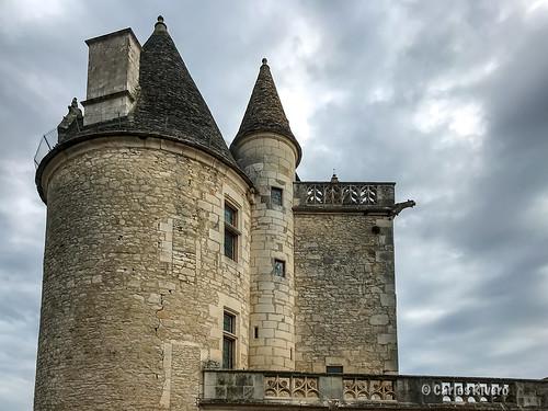 Château des Milandes. Castillo de Joséphine Baker, Le Périgord, Francia.