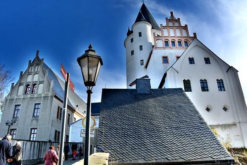 The castle in Schwarzenberg, Germany