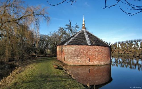 Groningen: Borg Ewsum geschutstoren