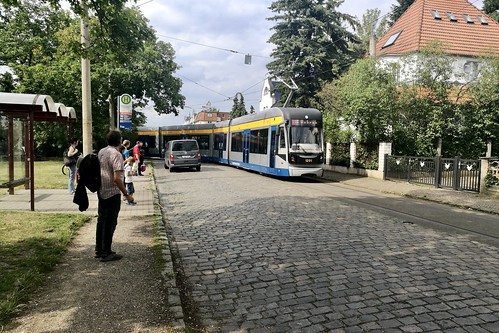 Leipzig 2019 – LVB 1201 at the Markkleeberg-Ost terminus