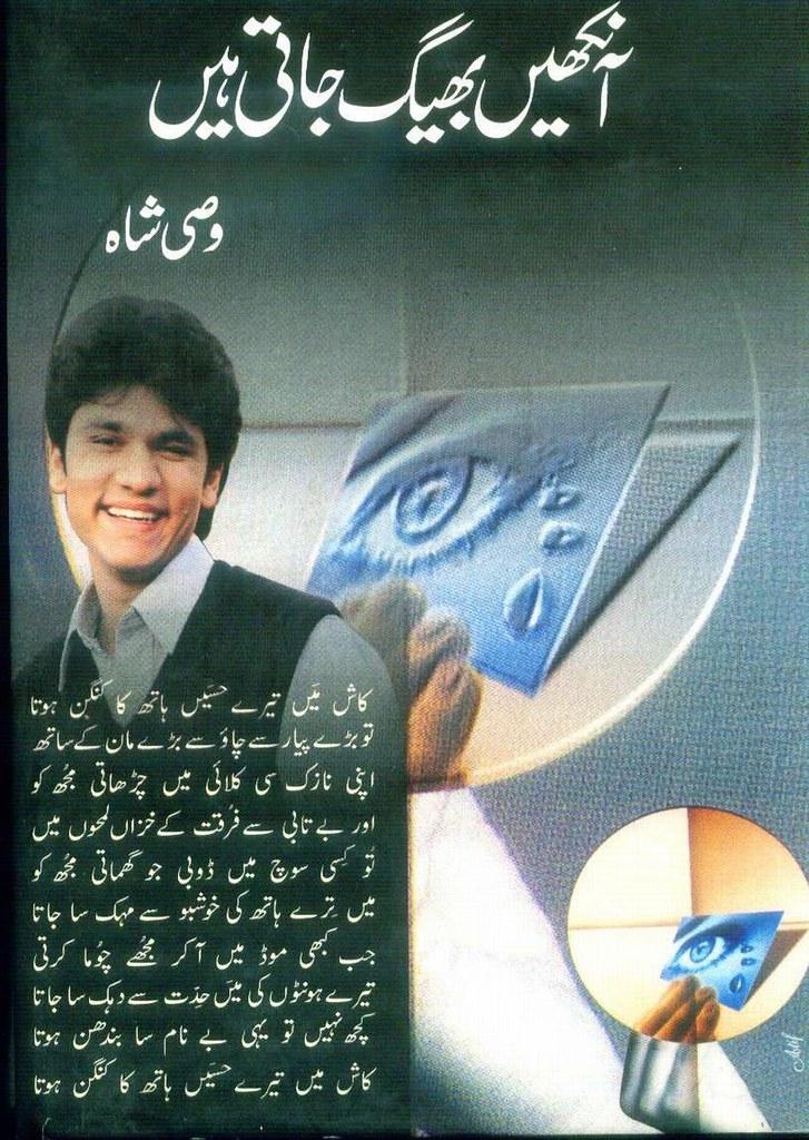 Aankhain Bheeg Jati Hain Complete Poetry Book By Wasi Shah