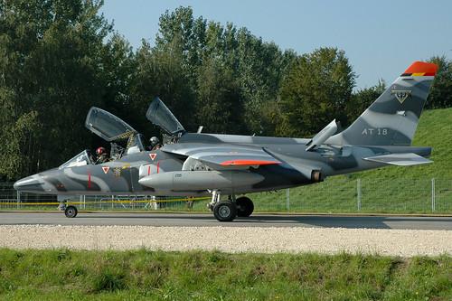 AT-18 d Alphajet BelgianAC 1W 040902 Payerne 1003