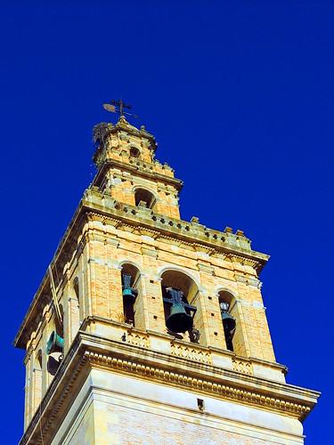 <Campanario de Santa María de la  Oliva> Lebrija (Sevilla)