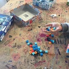 ce qui est long avec les jeux, c le comptage des pièces, l'atelier de Pechbonnieu