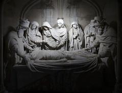 Mise au tombeau 15th century Église Sainte-Croix de Bernay