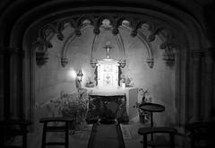 Credenza 18th century in Église Sainte-Croix de Bernay