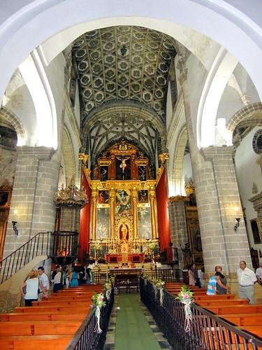 <Interior Santa María de la Oliva> Lebrija (Sevilla)