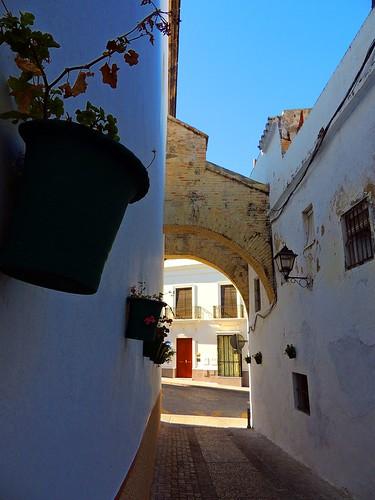 <Calle Monjas> Lebrija (Sevilla)