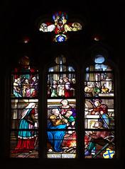 Vitraux de l'Église Sainte-Croix de Bernay