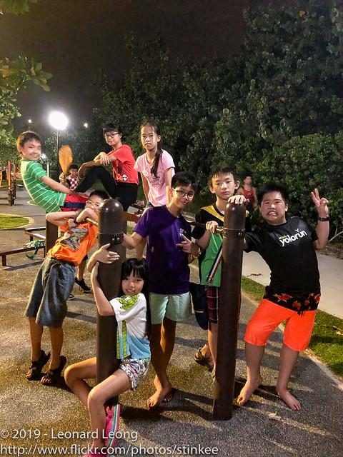 Crazies at the playground